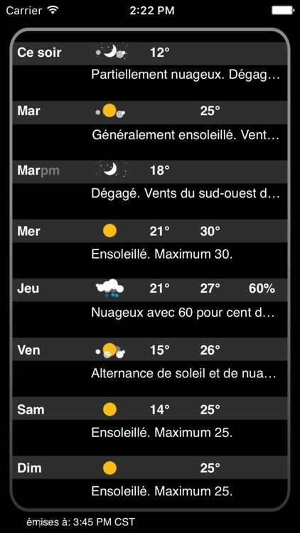Atmosphérique Pro – Canadian Weather from EC screenshot-4