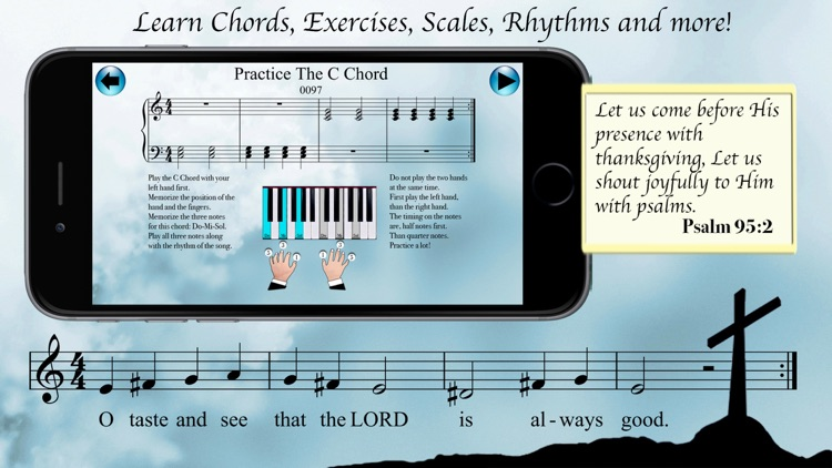 Christian Piano Lessons 1 screenshot-1