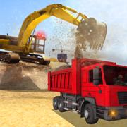 重型挖掘机自卸车 - 工程机械驾驶模拟器