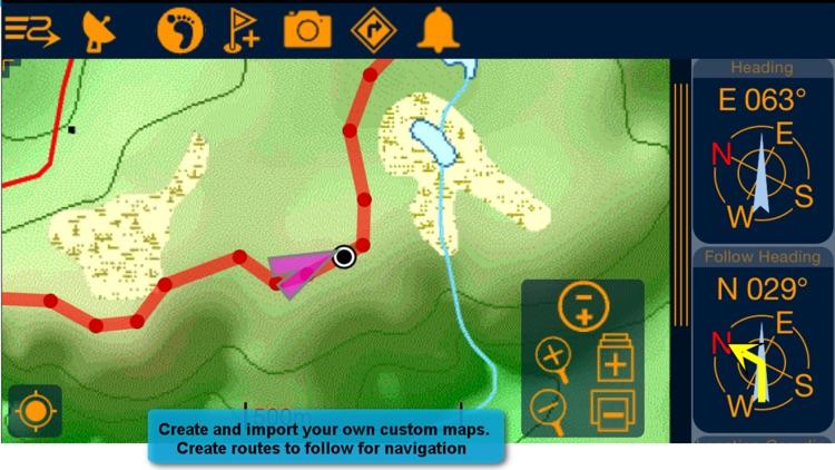 PathAway Express - Outdoor GPS Navigation, Maps screenshot-3