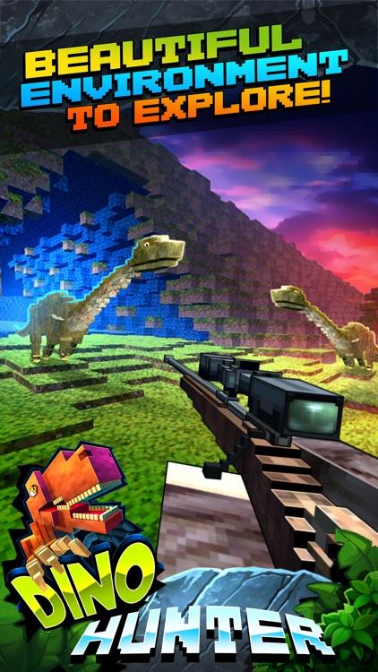 Wild Dino-saur Hunt-ing Survival Pixel screenshot-3