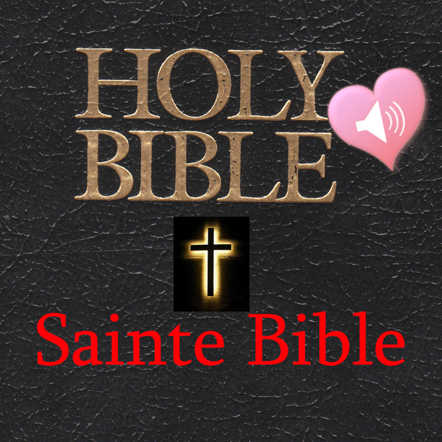 Holy Bible Audio Book in French and English on the Mac App
