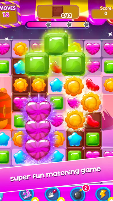 Candy Games Mania - New Sweet Match 3 screenshot two