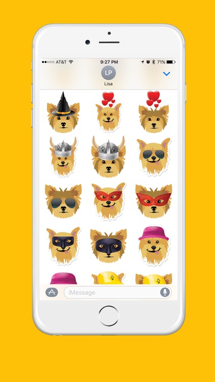 Yorkshire Terrier Emoji screenshot-4