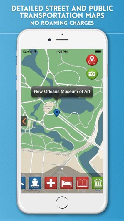New Orleans Travel Guide & Offline City Street Map screenshot-3