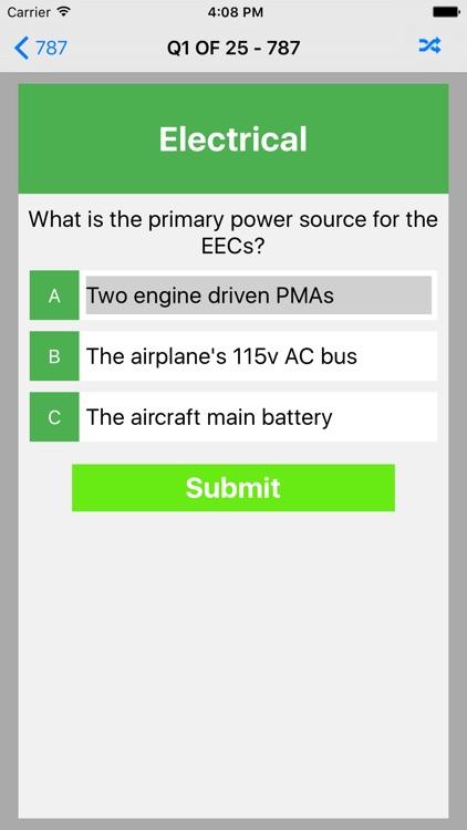 B787 Exam Questions