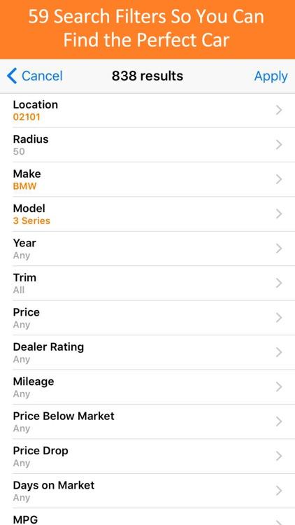 Used Car Search Pro - iSeeCars screenshot-3