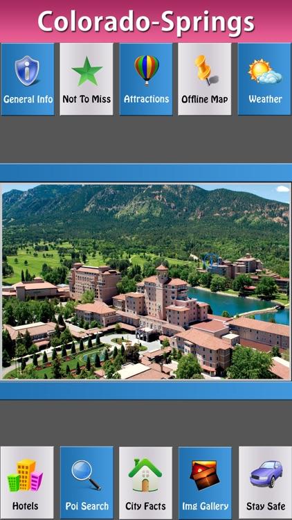Colorado Springs Offline City Explorer
