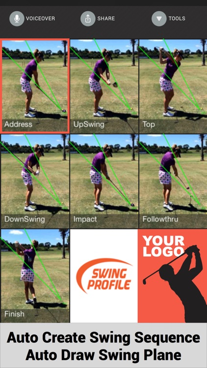 Swing Profile Golf Analyzer screenshot-2