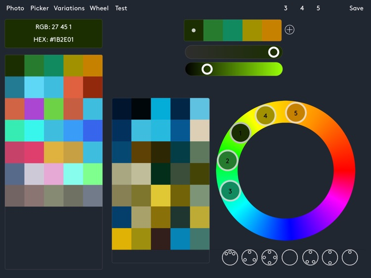 IC Colors Palettes screenshot-2