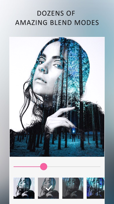 Blend Photo Editor - Double Exposure Effects Maker App