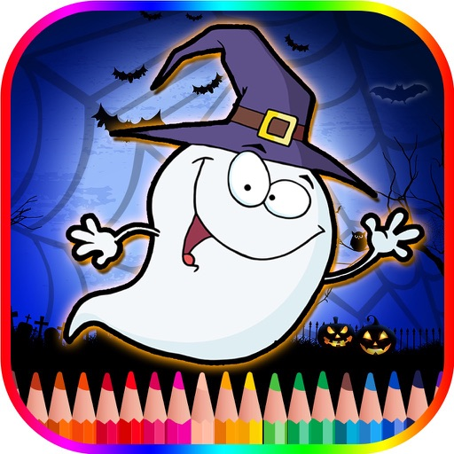 Halloween Coloring Book For Kids - Free Color Page