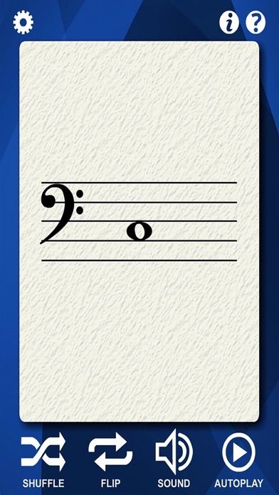 Contrabass Flash Cards