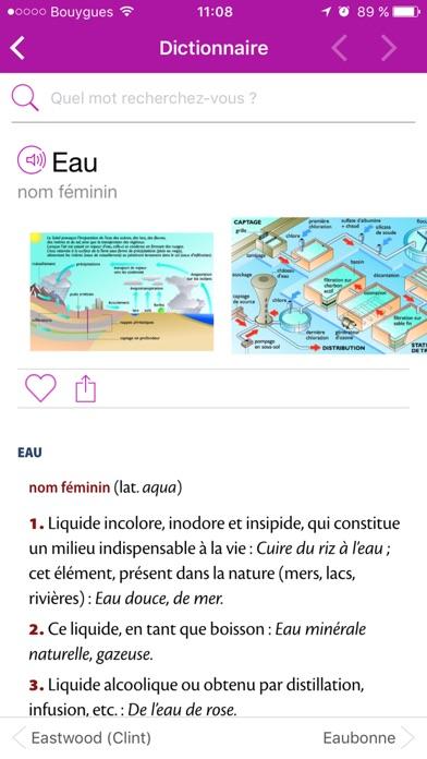 Le Petit Larousse 2018 screenshot1