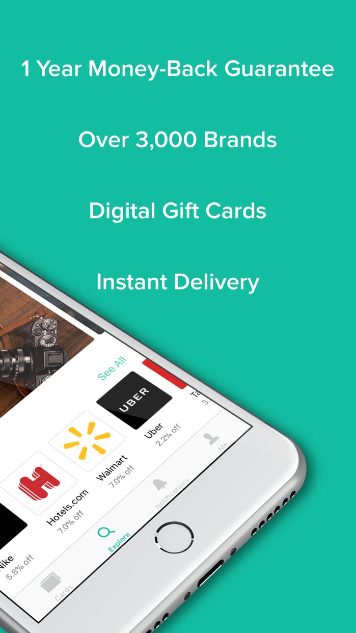 Raise - Discounted Gift Cards Screenshot
