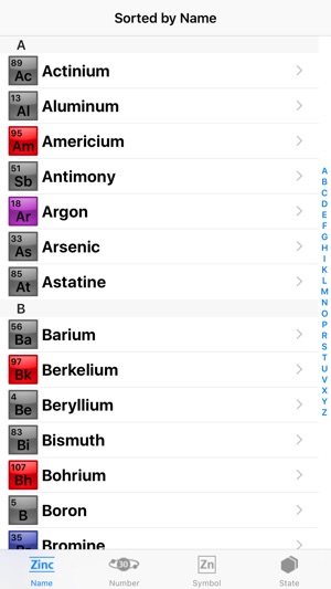 Elements a periodic table cheat sheet for school chemistry lab elements a periodic table cheat sheet for school chemistry lab class on the app store urtaz Images