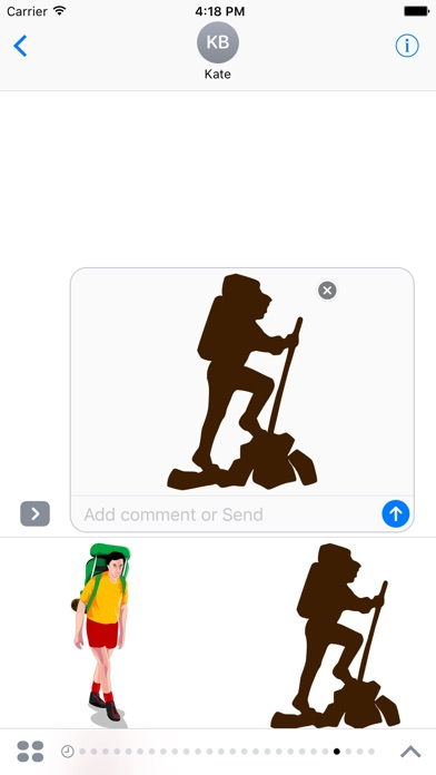 Hiking Sticker PackScreenshot von 1