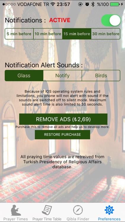 Salat Azan Muslim Prayer Times screenshot-4
