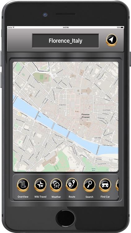 Florence_Italy Offline maps & Navigation