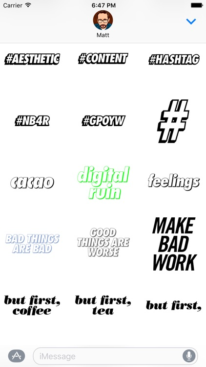 make something awful every day sticker pack screenshot-4