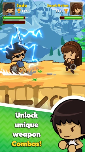 Swipe Fighter Heroes Screenshot