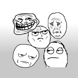 Rage faces - Stickers for iMessage