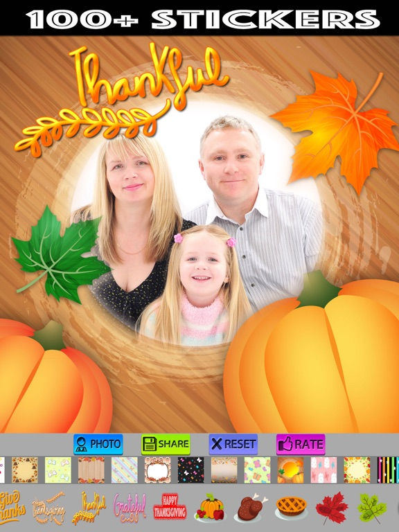Happy Thanksgiving Picture Frames App Price Drops