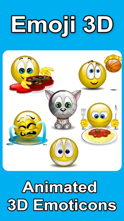 Animated 3D Emoji Emoticons screenshot-0