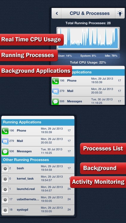 System Status Pro - Battery & Network Manager screenshot-3