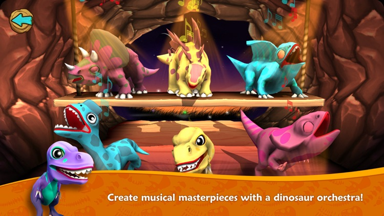 Dino Tales Jr – storytelling for young minds screenshot-3