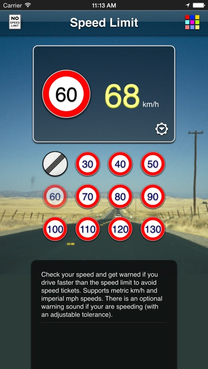 Speed Limit App screenshot-4