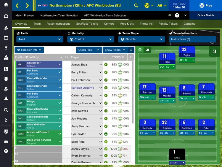 Football Manager Touch 2016 screenshot-3