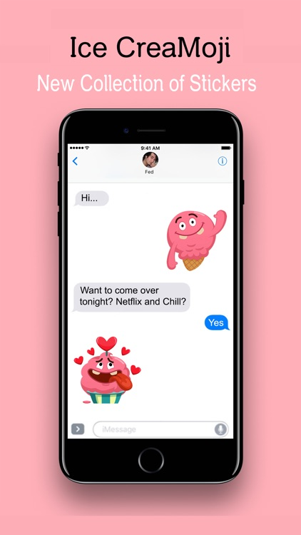 Ice CreaMoji Stickers for iMessage