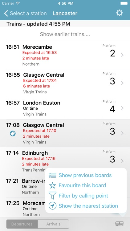 Departure Board screenshot-3