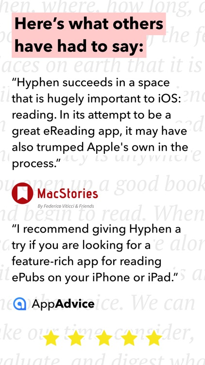 Hyphen - eBook Reader for ePub screenshot-4