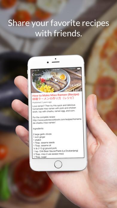 Japanese Recipes: Food recipes & cookbooks screenshot four