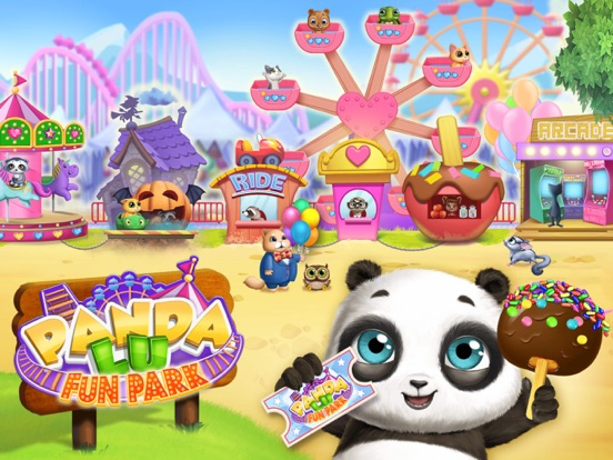 Panda Lu Fun Park screenshot 9