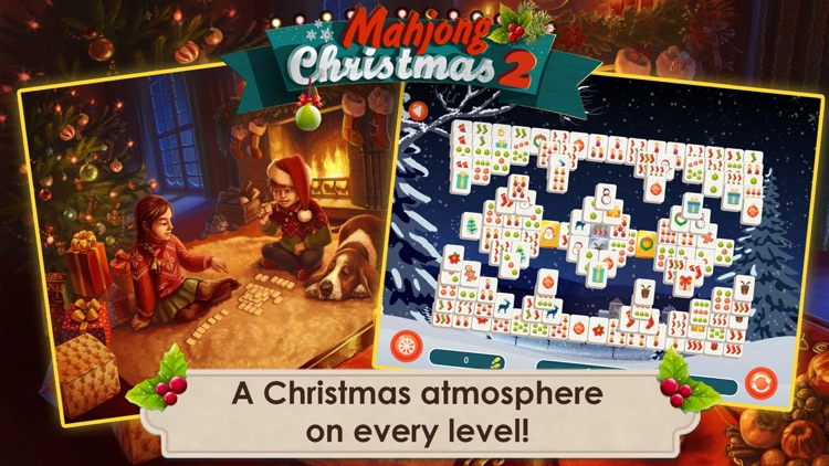 Mahjong Christmas 2 Free screenshot-0
