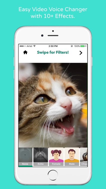 Video Voice Editor - Special Sound Effects for Videos and Filters for Sharing to Social Media