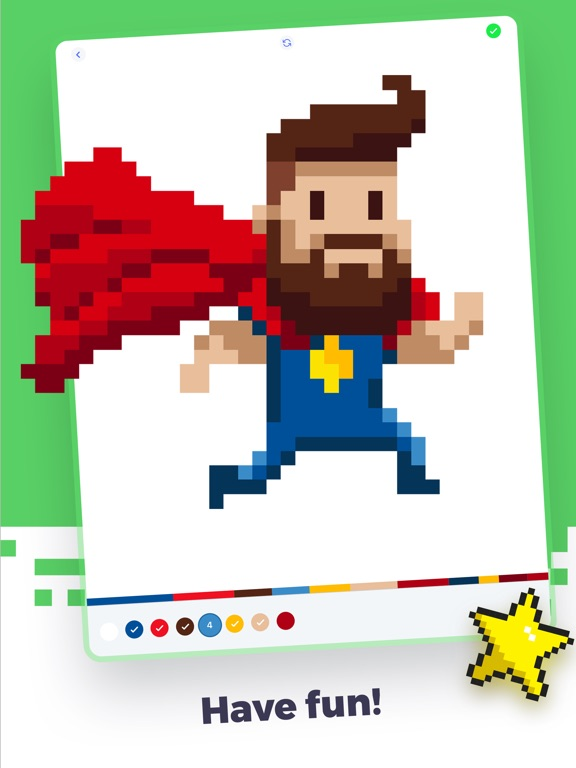 Super Pixel - Color by Number screenshot 10