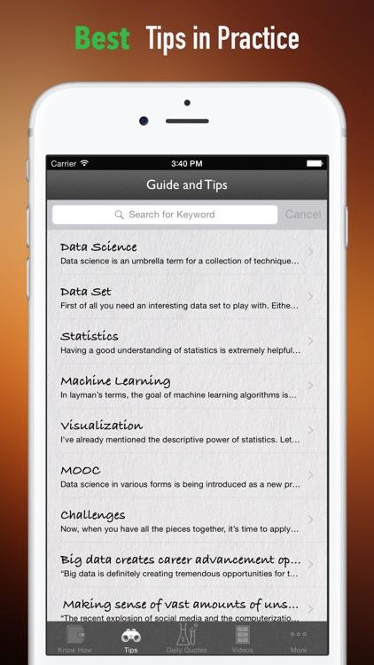 Data Science:Mining,Data-Analytic Thinking screenshot-3