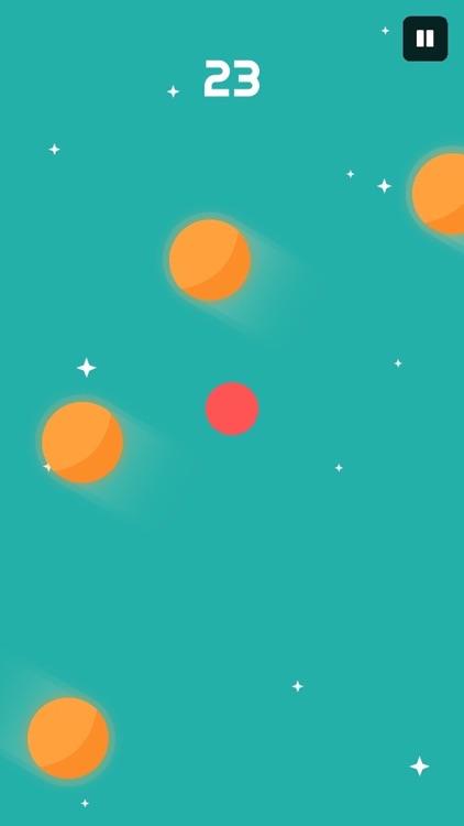 Escape from color balls