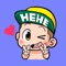 Naughty Baby - Cute stickers for iMessage
