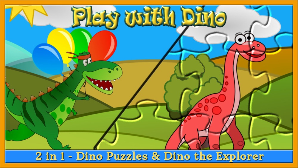 My baby first dino: dinosaur puzzle game for kids Cheat Codes