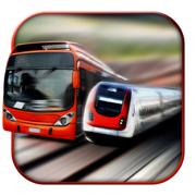 欧元火车VS公交地铁 - 公交车司机3D