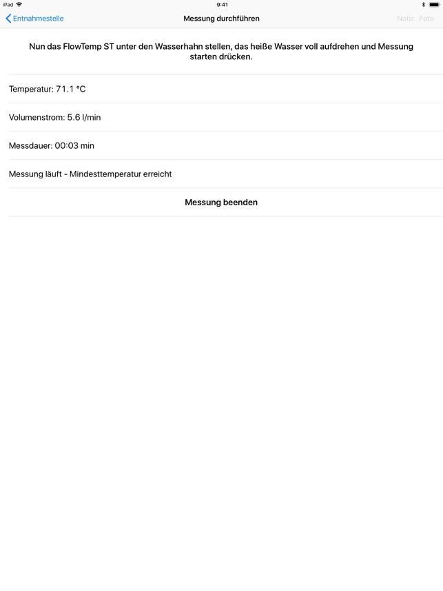 FlowTemp ST on the App Store