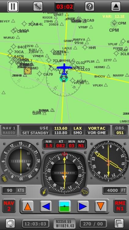 Radio Navigation Simulator USA