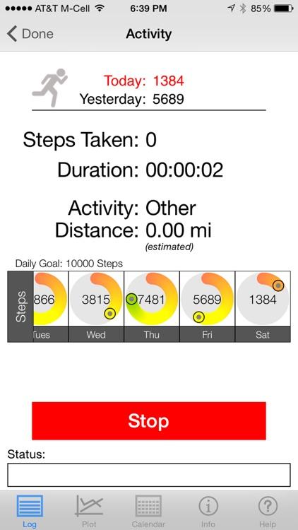 Health Stats Log screenshot-4
