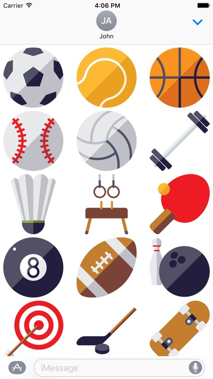 Sports for Stickers