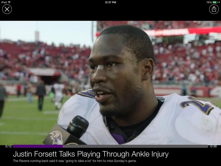 Baltimore Ravens Tablet screenshot-4